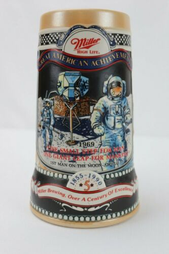 Miller Beer Stein Great American Achievements 5th in the series