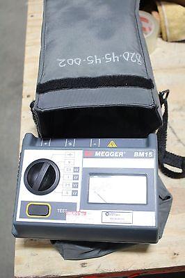 Biddle Megger Bm15 Analog 5 Kv Megger Insulation Tester With Case