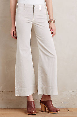 Citizens of Humanity Abigail Wide-Leg Cords Pants Size 27 NW ANTHROPOLOGIE Tag Wide Leg Cord Pant