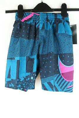Nike Swim Mash Up Breaker 8 Badeshorts Badehosen Kinder Shorts Gr.122-128 Neu