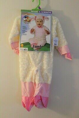 NEW Noah's Ark - Infant Girl's Lamb Halloween Costume 6-12 Months