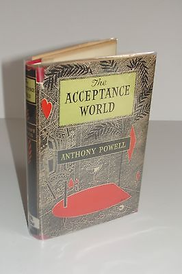 The Acceptance World By Anthony Powell Uk 1St 2Nd 1955 Heinemann Hardcover