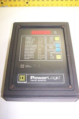 Square D Power Logic Circuit Monitor 3020 Cm2250
