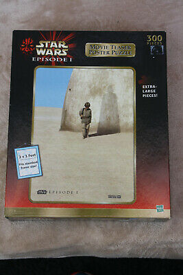 Star Wars Episode 1 - 300 Piece  Movie Teaser Poster Jigsaw Puzzle - Hasbro
