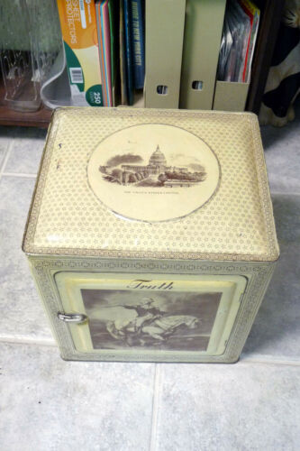 """TRUTH BRAND PURE EXTRACT VANILLA """"PIE-SAFE""""DISPLAY BOX..""""MUST SEE QjQ""""!"""