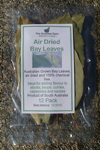 Dried Bay Leaves 12pack - Product of SOUTH AUSTRALIA - The Gourmet Guru