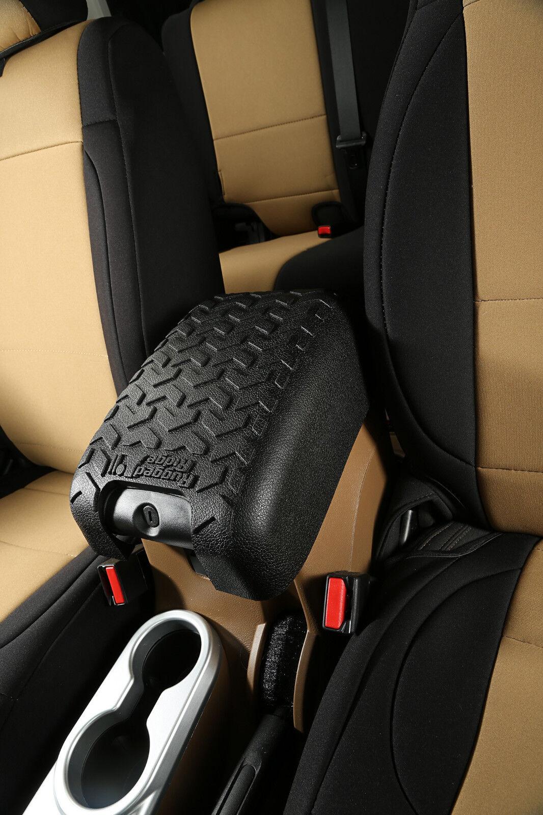 Jeep Rubicon Accessories >> Center Console Arm Rest Cover for Jeep Wrangler JK 2011 ...