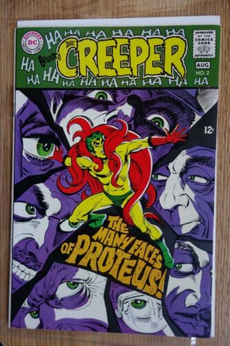 DC Beware the Creeper #2 (Aug, 1968) Intro Proteus Silver Age Comic