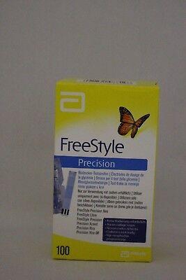 FreeStyle Precision Blutzucker Teststreifen 100 St.(verwendbar bis 30.06.2019)