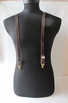 Wwii Ww2 German Ally Police Officer Leather Y Straps