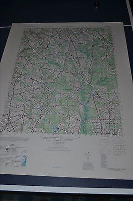 1940's Army topo map (like USGS) Glassboro NJ Sheet 5963 II