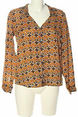 SURKANA Hemd-Bluse Damen Gr. DE 40 braun Blouse Shirt Blouse