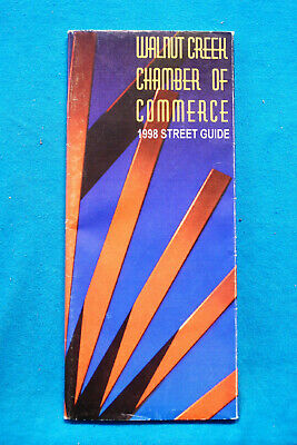 Walnut Creek Chamber of Commerce - 1998 Street Guide