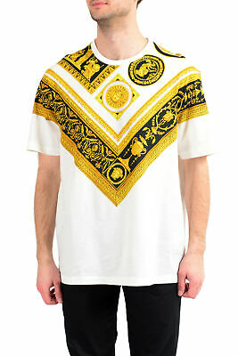 Versace Men's Multi-Color Barocco Crewneck T-Shirt US S M L XL 2XL