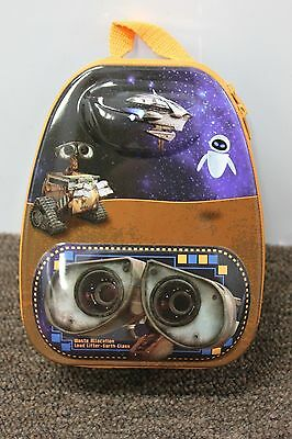 WALL-E & EVE METAL CARRYALL TIN Disney Pixar Movie Lunch School Kids Child NEW