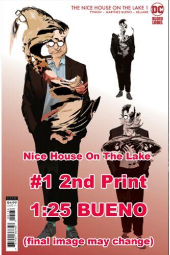 NICE HOUSE ON THE LAKE 1 2ND PRINT  1:25 BUENO ~ DC ~  7/13