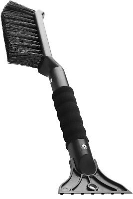 2-in-1 Ice Scraper with Brush for Car Windshield Snow Remove Frost Broom Cleaner
