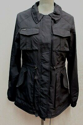 NWT Nobis The Ranger Design Features Navy Blue Jacket Coat Ladies L Large