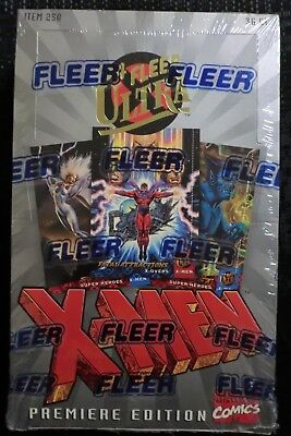 1994 FLEER MARVEL ULTRA X-MEN TRADING CARDS HOBBY BOX SEALED