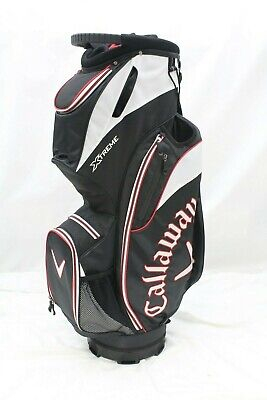 ba52e50367b New Callaway XTreme Cart Golf Bag (Black-White-Red) 14 Way Top Golf Bag  XTREME