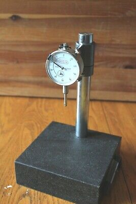 Granite Check Stand Comparator Base Surface Plate Grizzly Dial Indicator Gauge