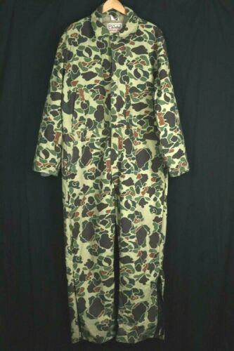 WALLS Blizzard-Pruf Old School Camouflage Hunting COVERALLS 2XL XX Regular