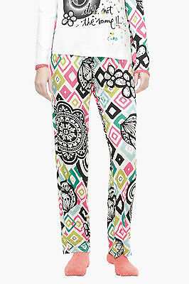 Desigual Pyjamahose Modell PANT B&W ROMBOS