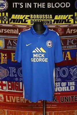 5/5 Peterborough United boys 13-15 MINT 158-170cm 2015 football shirt jersey image