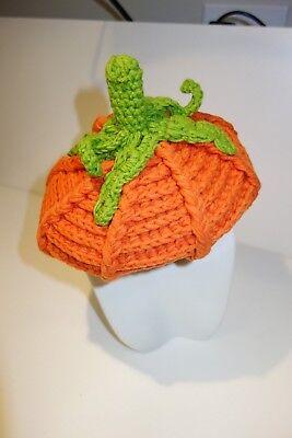 Pumpkin Newborn Baby Knit Costume Halloween Christmas Gift Kids Children - Newborn Costumes Halloween