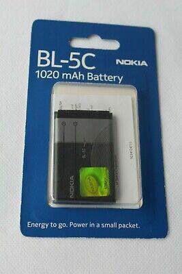 Nokia Akku BL-5C, BL5C Akku  1020mAh Li-Ion Nokia BL-5C 6030 6230 6230i usw. gebraucht kaufen  Neuhof