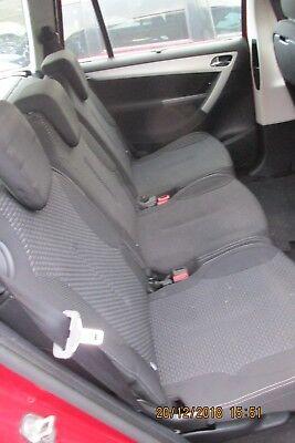 2012 CITROEN C4 GRAND PICASSO GENUINE CENTRE REAR COMPLETE SEAT SINGLE