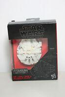 Hasbro Star Wars Millenium Falcon 01 The Black Titanium Series Titanio - titan - ebay.es