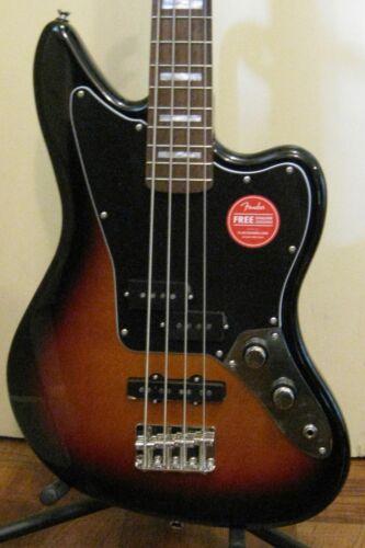 """Fender Squier Classic Vibe Jaguar Bass in 3 Tone Sunburst - Medium 32"""" Scale"""