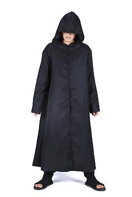 Naruto Shippuden Cosplay Costume Hatake Kakashi Anbu Black Ops Cloak Black - Kakashi Hatake Anbu Kostüm