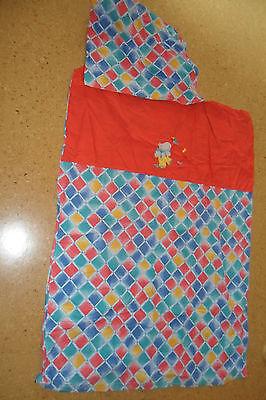 Elegante Kinderbett (Kinderbettwäsche ELEGANTE 90 x 120 rot blau gelb kariert Elefant)