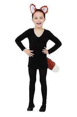 Fox Set Big Tail (Ohren Schwanz), Abendkleid-Partei-Kostüm-Zusatz - Fox Tail Kostüm