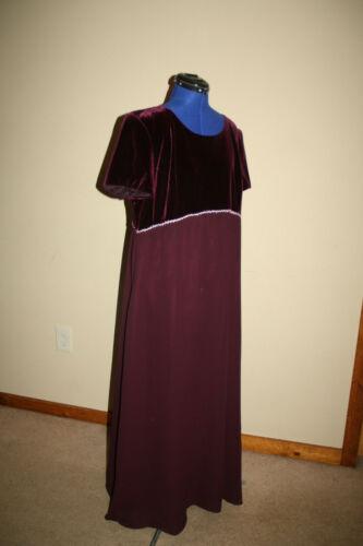 Regency Gown Costume Jane Austen Pride and Prejudice Emma 1700s sz 20 Bridesmaid