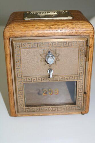 Vintage Post Office Door Bank
