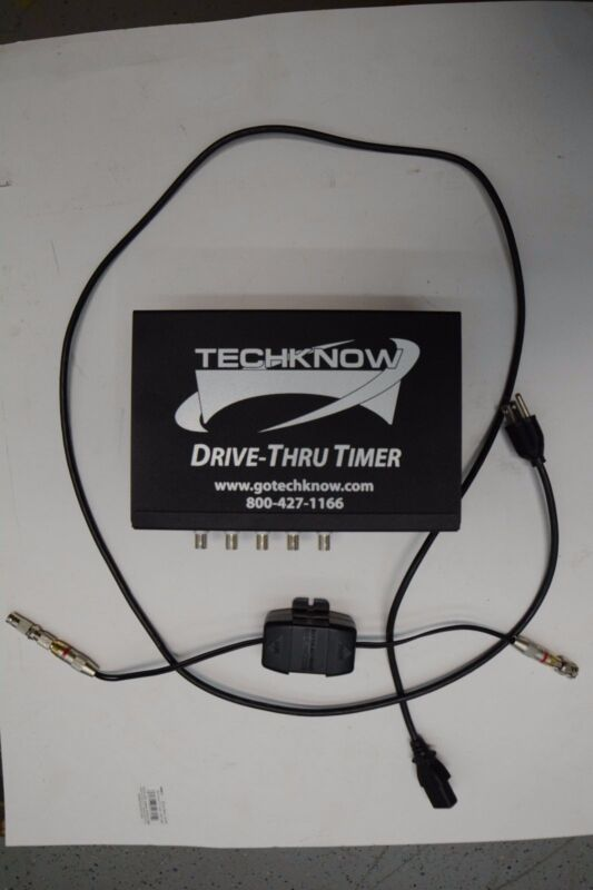Techknow Drive through information system