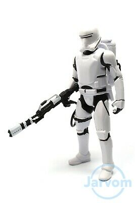 "Star Wars TFA 3.75"" The Force Awakens First Order Flametrooper Loose Complete"