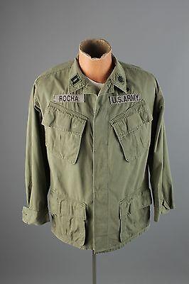 Vtg US Army 1969 Dated Ripstop Vietnam War Combat Jungle Jacket sz S #2172
