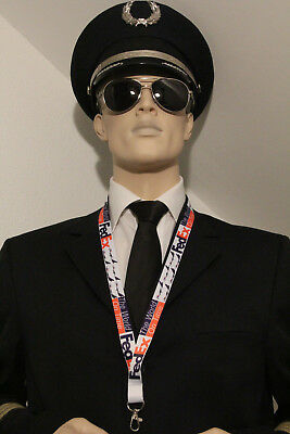 Fedex Federal Express Airlines Lanyard Neckstrap Lanyard For Pilots  Crews  Fans