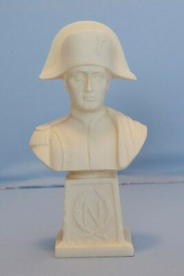 Bust of French Emperor Napoleon Bonaparte Waterloo Battle War