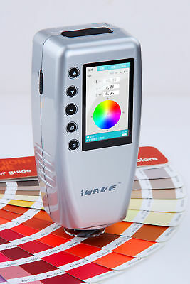 Fru Wr10 Portable Digital Colorimeter Color Meter Color Analyzer 8mm D65