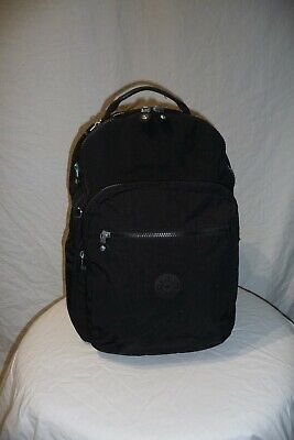 KIPLING Clas Seoul Black 25L Rucksack Backpack Bag