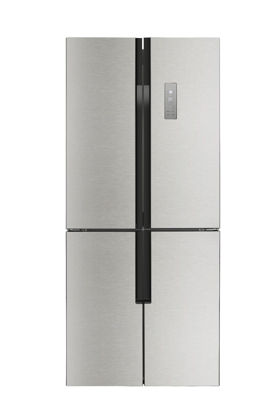 """30"""" Width LED display, automatic defrost Refrigerator Silver"""