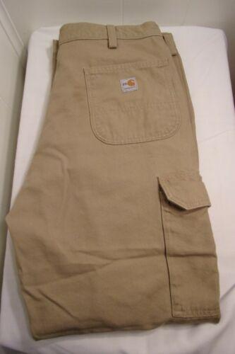 CARHARTT 2112 CAT2 Flame-Resistant Canvas Cargo Pants Golden Khaki Men