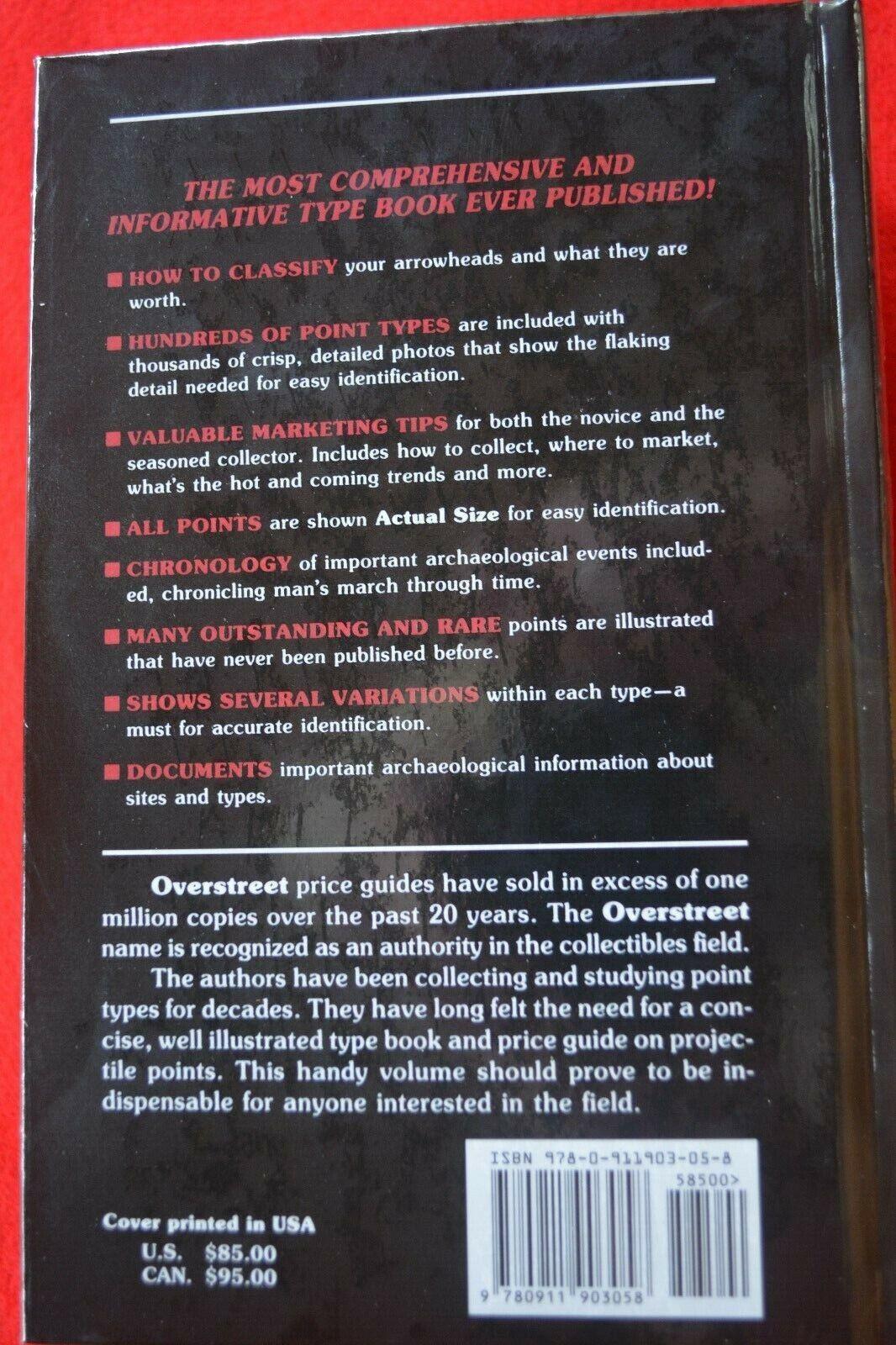 ::Overstreet Arrowheads 1st. Edition, BRAND NEW