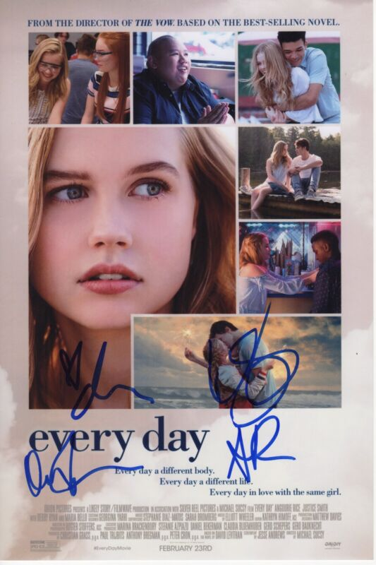 DEBBY RYAN SIGNED EVERY DAY PHOTO 8X12 AUTOGRAPH ANGOURIE RICE OWEN TEAGUE