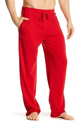 New - Polo Ralph Lauren Mens Waffle Thermal Lounge/Sleep Pants: RED :  S - XL